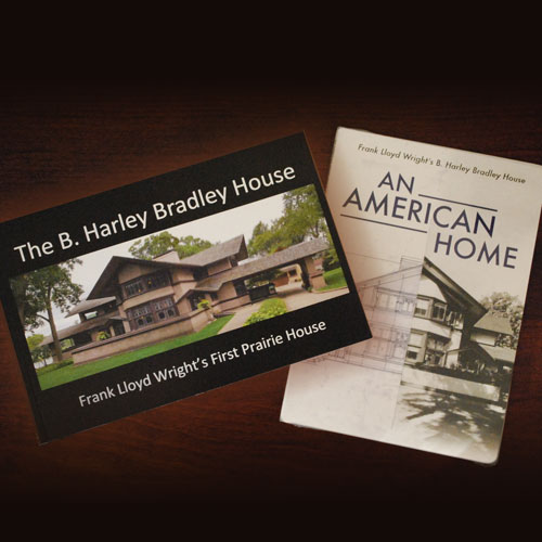 Bradley house booklet and DVD combination