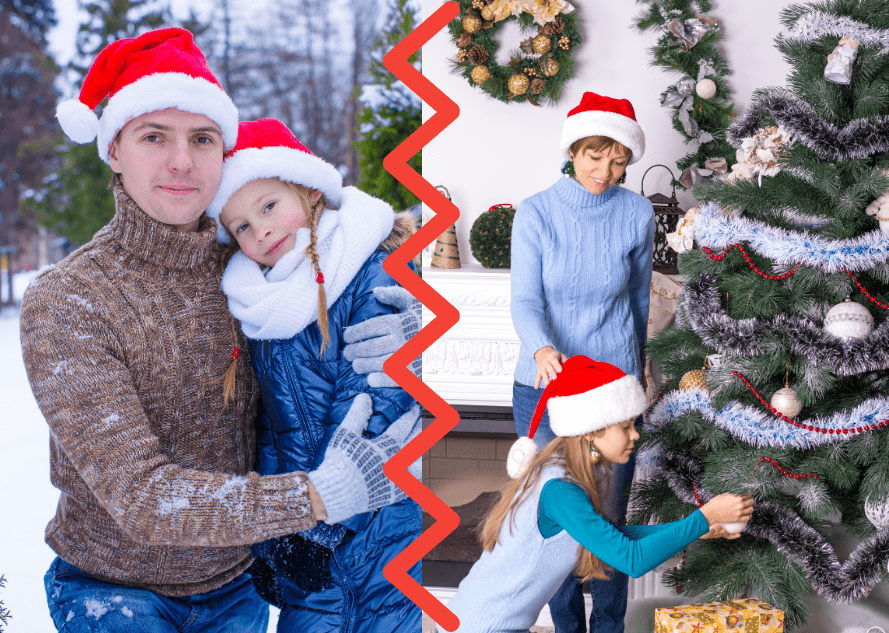 Coparenting during the holidays can be stressful. Read our tips to help you stay jolly this Christmas.