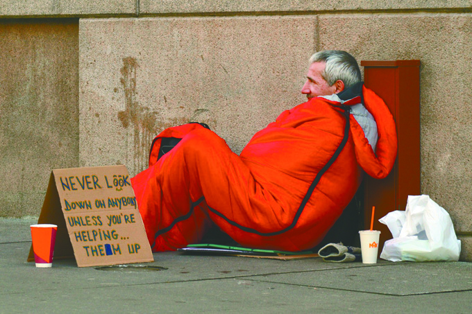Homeless Count next Wednesday in Polk County