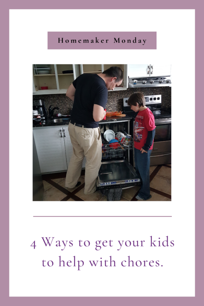 One thing that can make life easier is children helping around the house. Here are 4 tips on getting them to help with chores, regardless of their age.