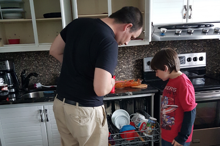 Age Appropriate Chores - Dishes