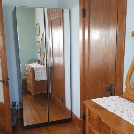 La Chambre mirror | 1922 Starkey House B&B Inn | Finger Lakes, New York