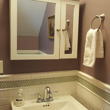 La Chambre sink | 1922 Starkey House B&B Inn | Finger Lakes, New York