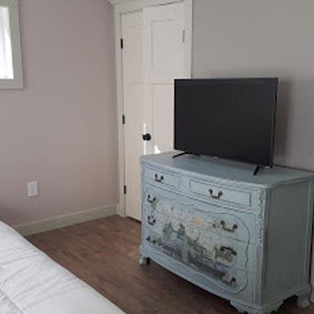 Private suite TV | 1922 Starkey House B&B Inn | Finger Lakes, New York