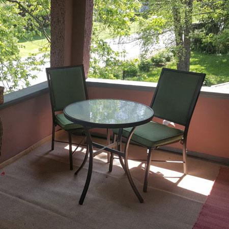 Robin's Nest chairs | 1922 Starkey House B&B Inn | Finger Lakes, New York