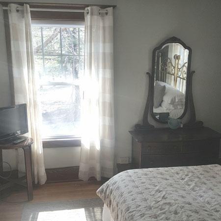 Robin's Nest window | 1922 Starkey House B&B Inn | Finger Lakes, New York