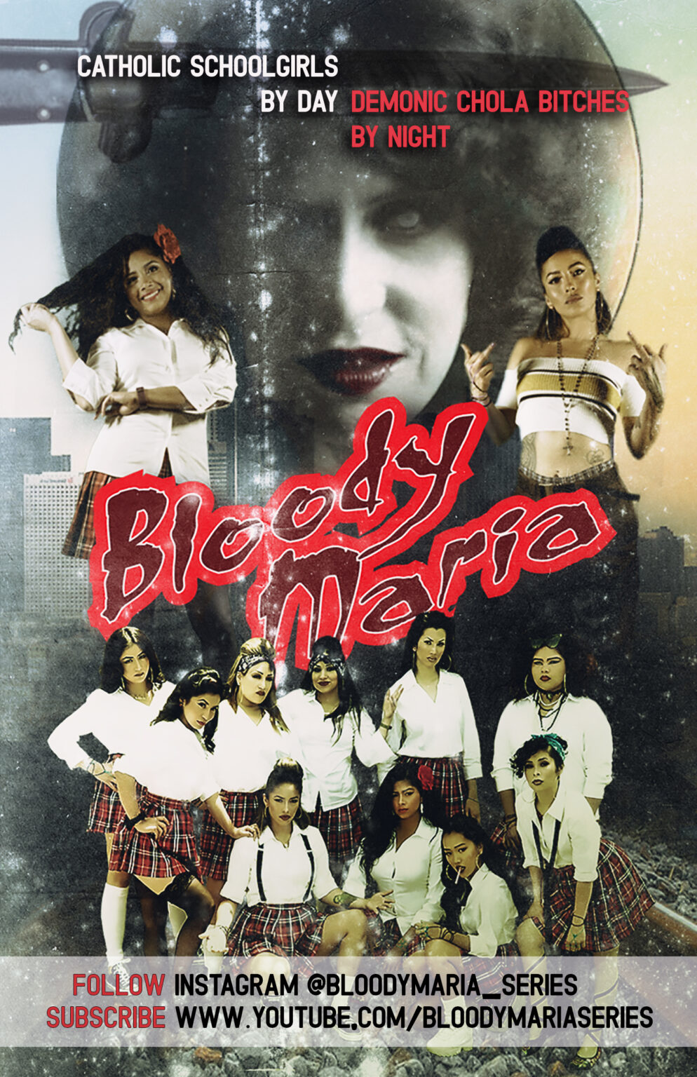 Poster for movie Bloody Maria