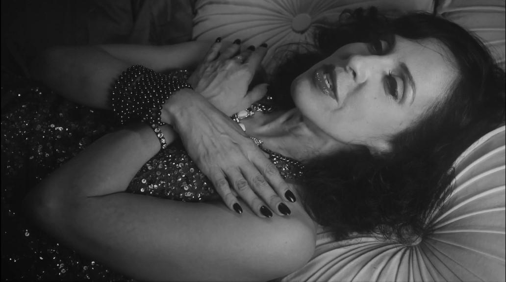 woman lays down to die