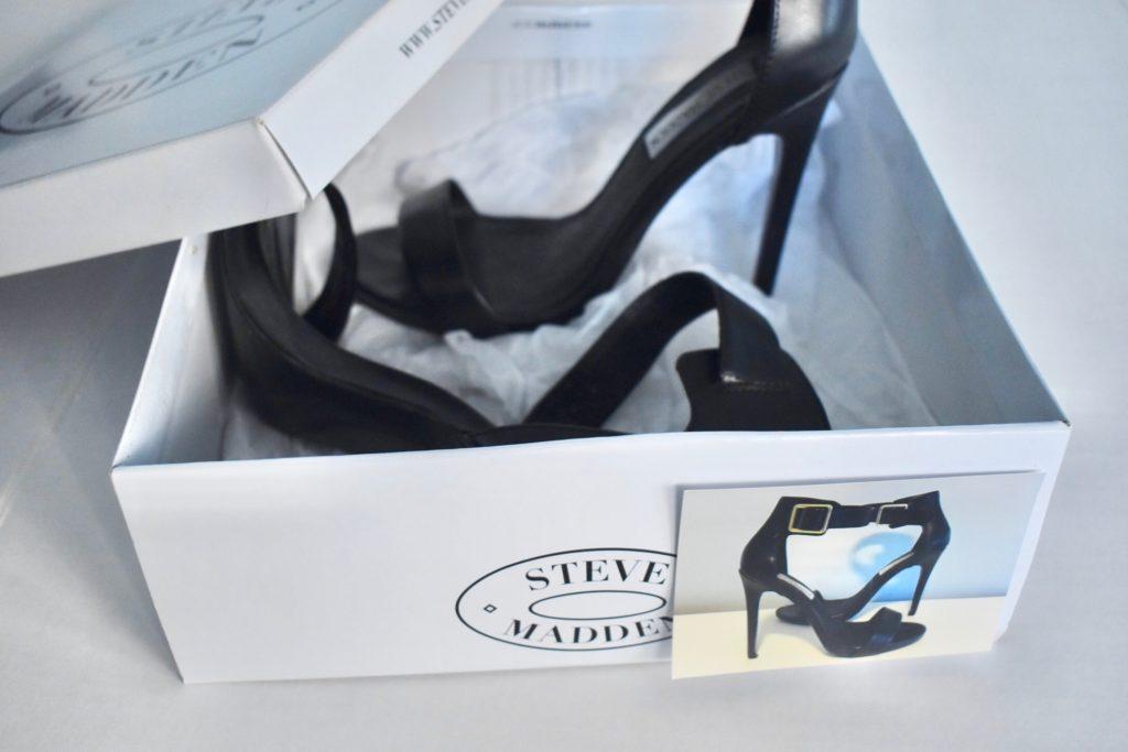 Steve Madden shoe box