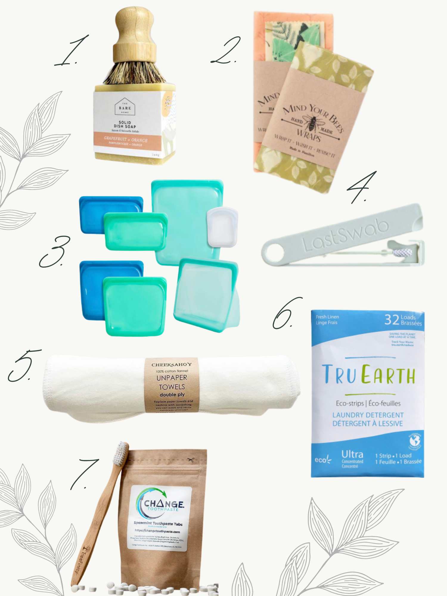 Sustainable items