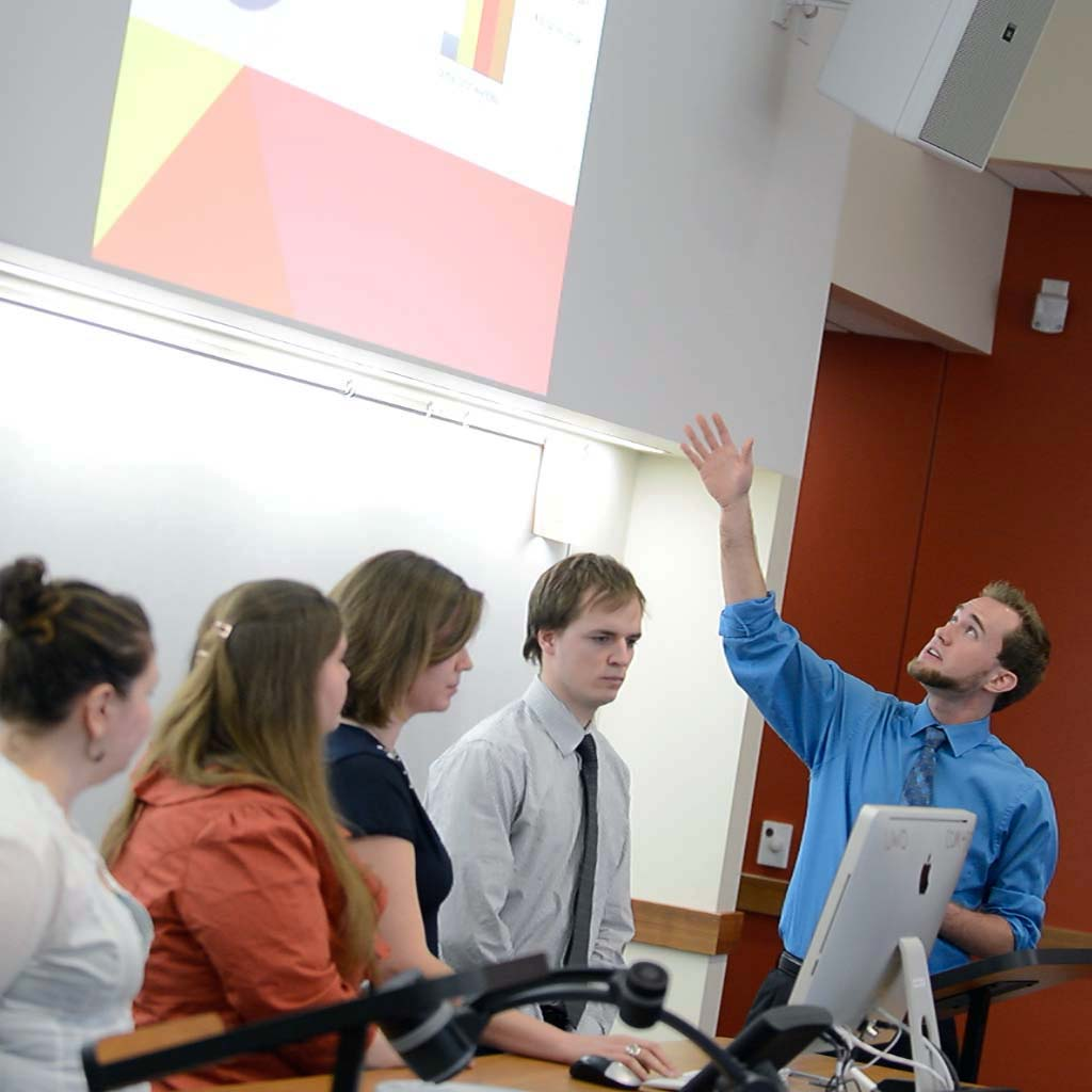 Students experience the importance of marketing strategy.