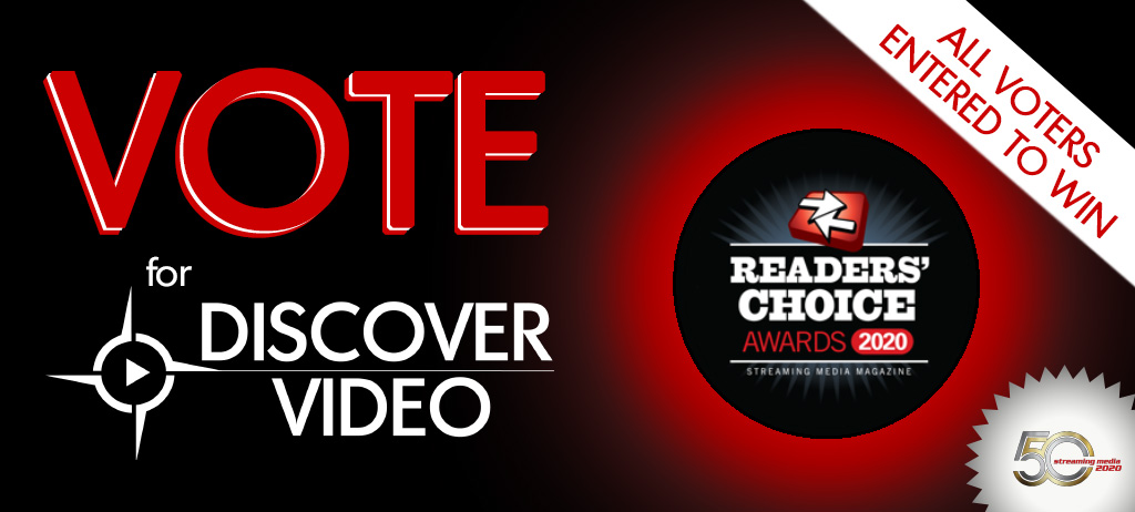 DiscoverVideo Nominated for Best of Streaming
