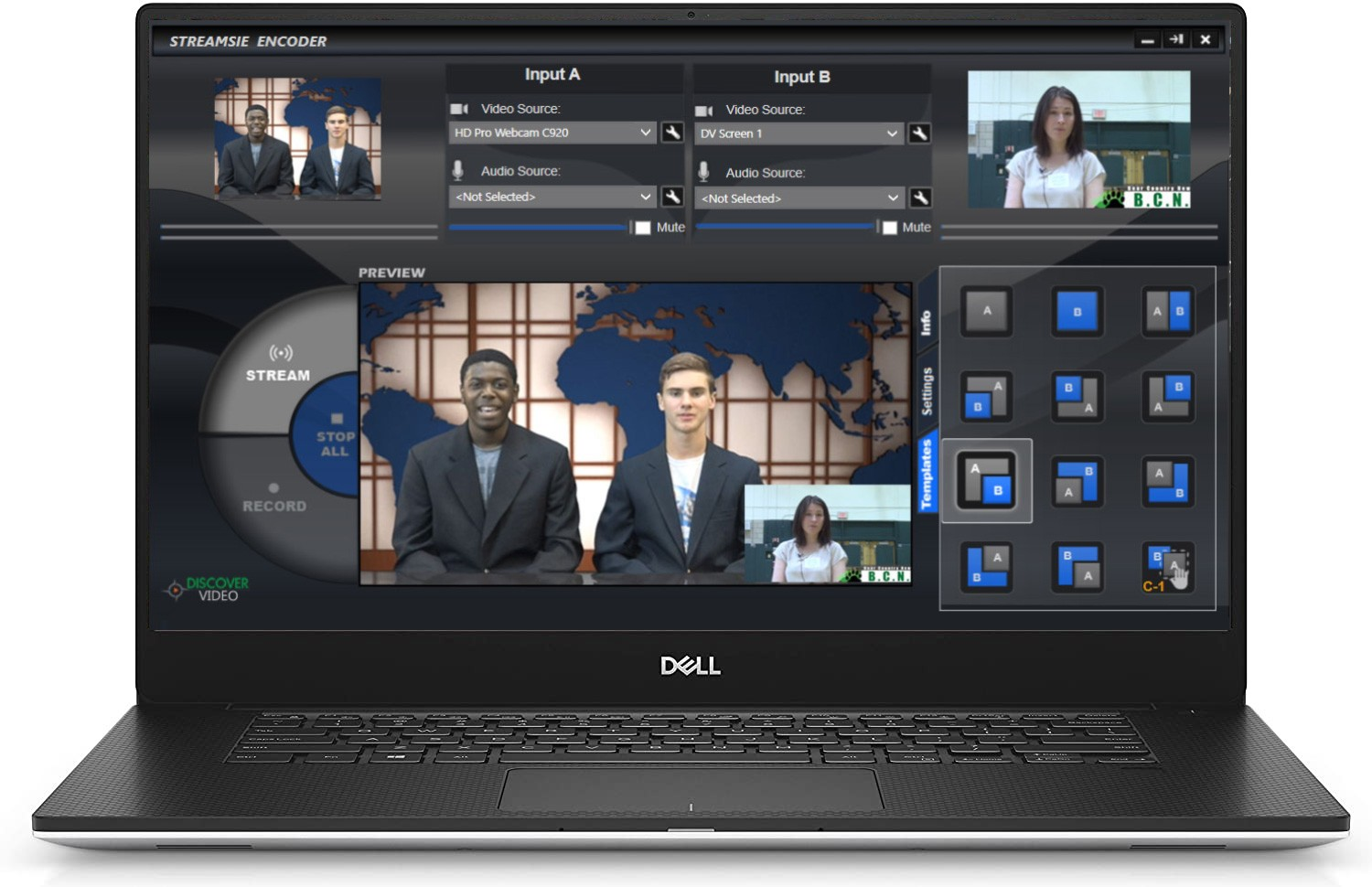 Rover Dedicated Laptop Streaming Encoder System from DiscoverVideo