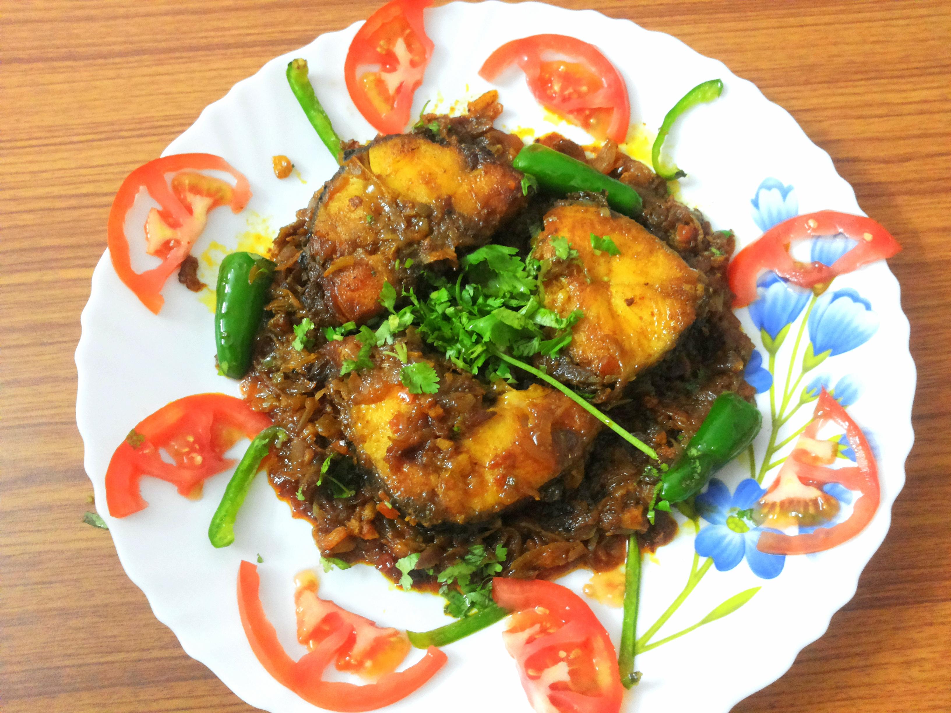 Sindhi style fish fry masala(Seyal Machi)