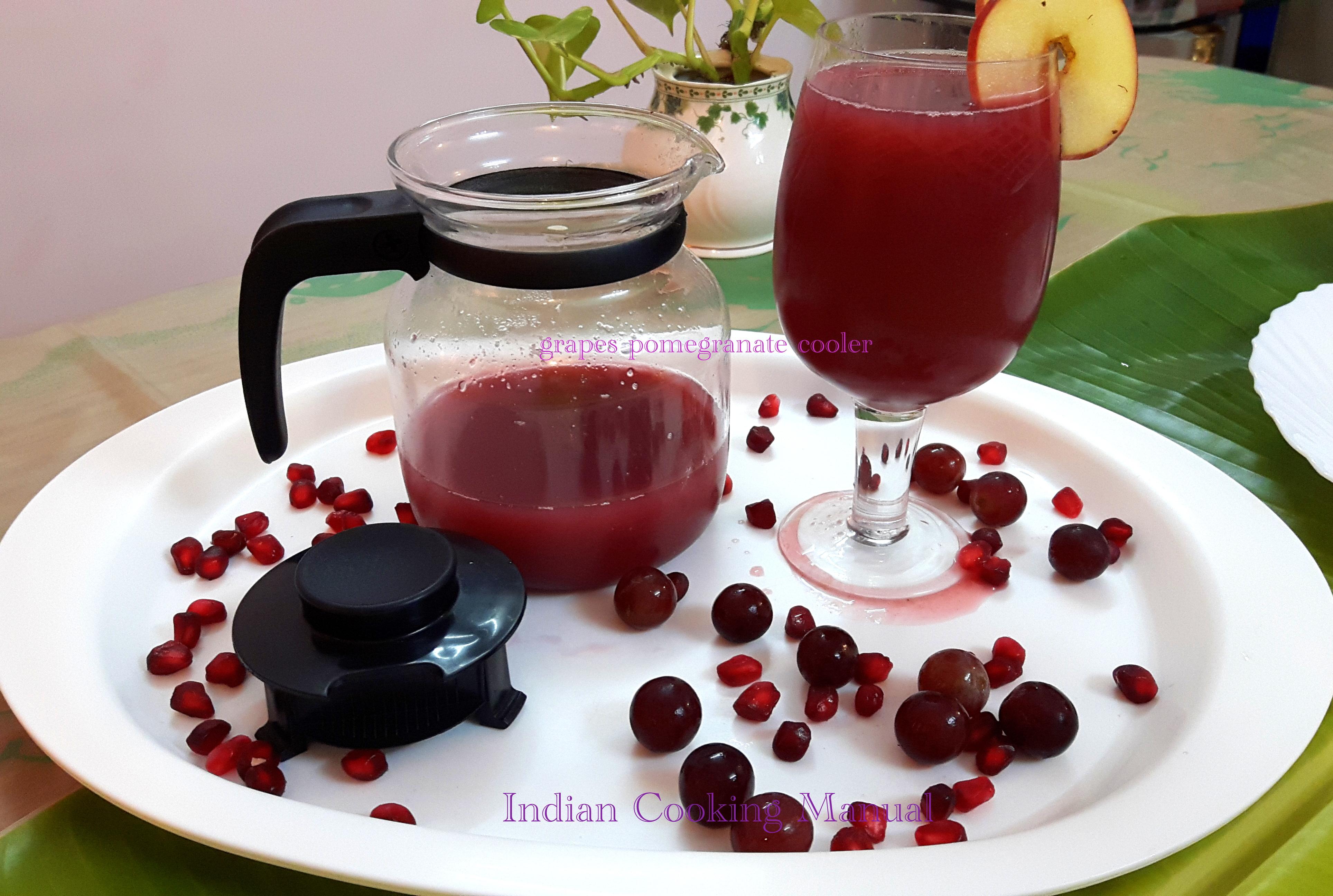 Grapes Pomegranate Cooler