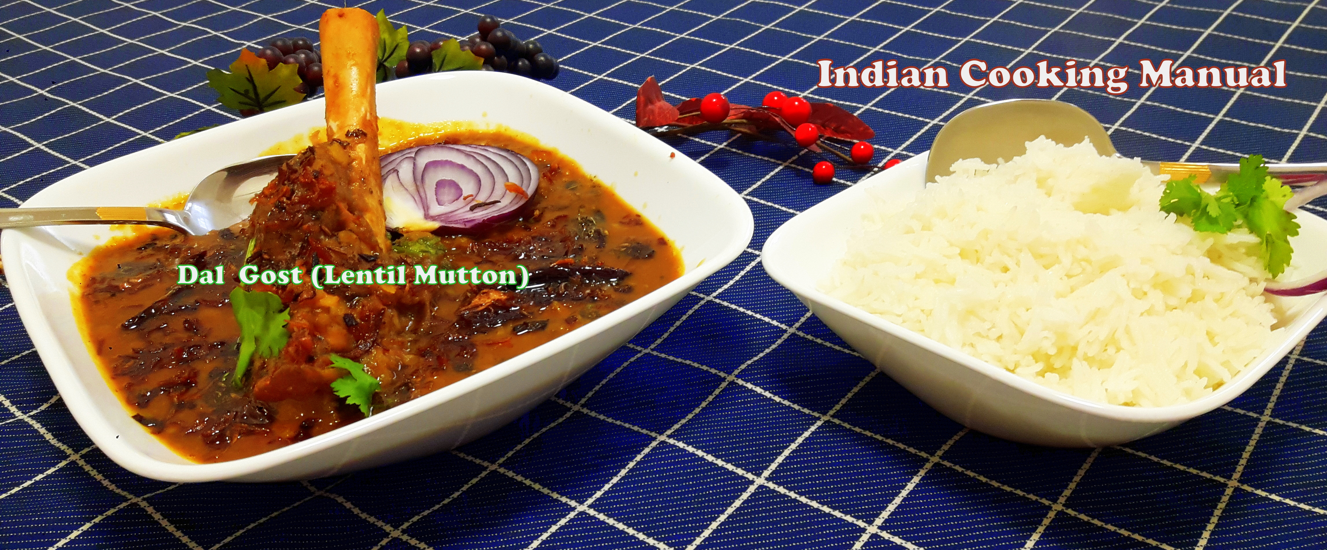 Dal Gost (Mutton with Lentil curry)