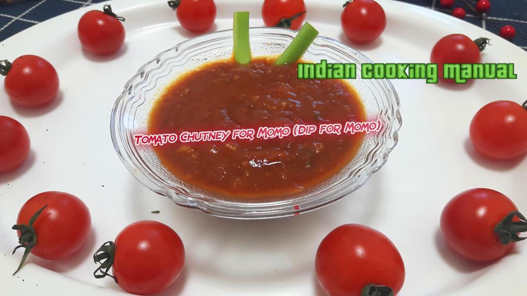 Tomato Chutney for Momo (Dip for Momo)