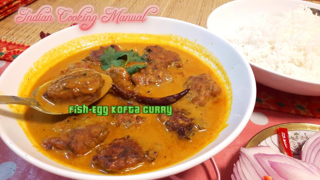 Fish-Egg Kofta/Fritters Curry