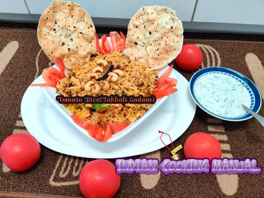 Tomato Rice (Takkali Sadam)