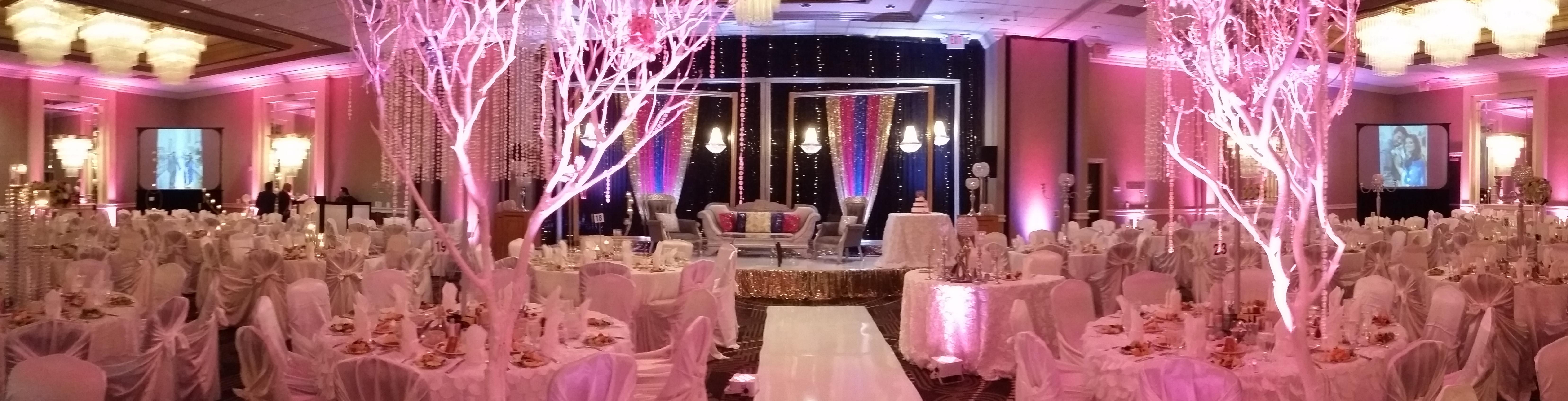 Houston Weddings, Weddings in Houston, Big Screen Rear Projection for Houston Audio Visual, Houston A/V, Up-Lighting, Houston Indian Wedding, Awesome Music Entertainment, Awesome Event Pros, Awesome Lighting Decor, AME DJs, Sonido DJ Sammy de Houston