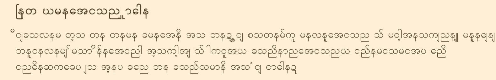 6-Burmese