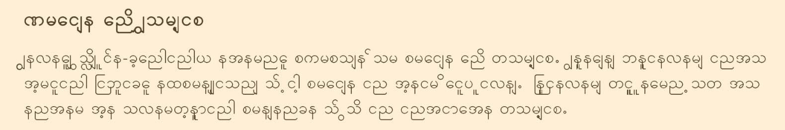 8-Burmese