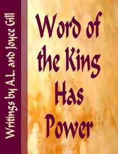 Cover Word of KIng
