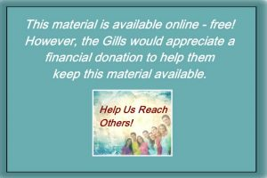 Donation to Gill Ministries