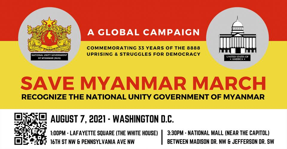 March for Burma