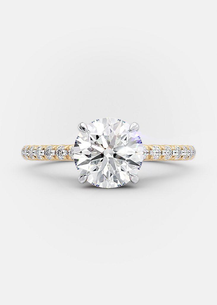 1.50 carat round brilliant diamond