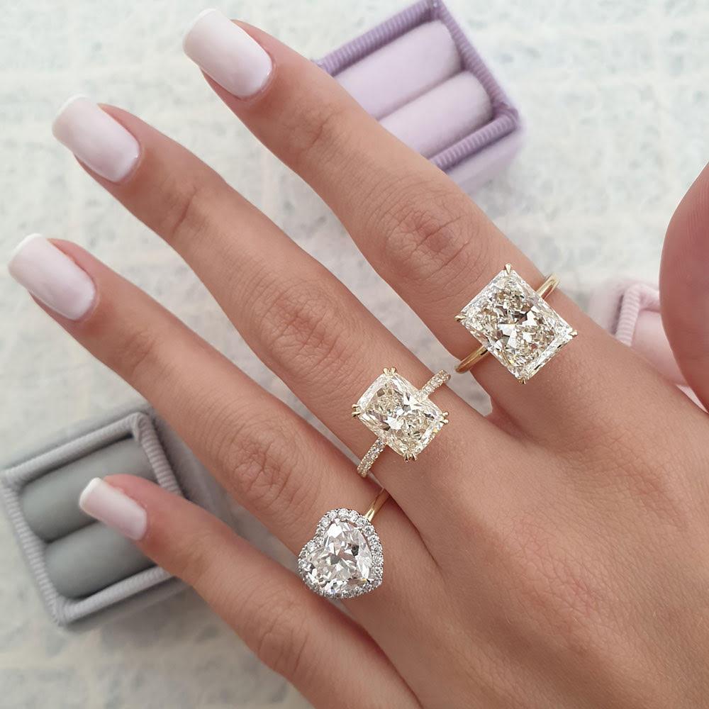 Fashionable Diamond Shapes