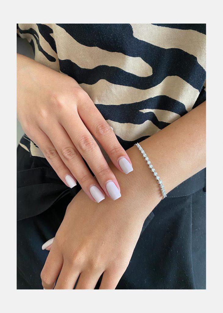 1 carat illusion bracelet