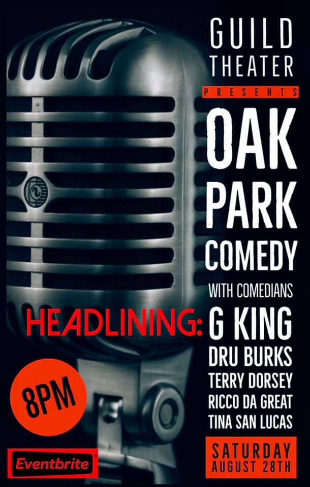 Comedy at the Guild August 28