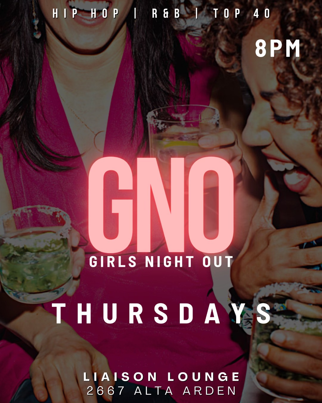 Girls Night Out at Liaison Lounge