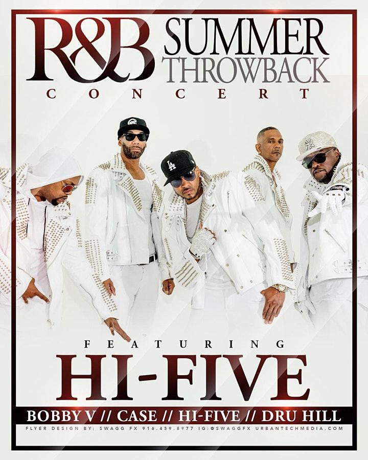 RnB Summer Throwback at McClatchy Park (Hi-Five)