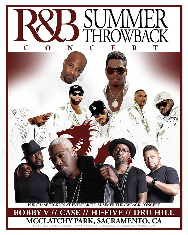 RnB Summer Throwback at McClatchy Park (all artists)