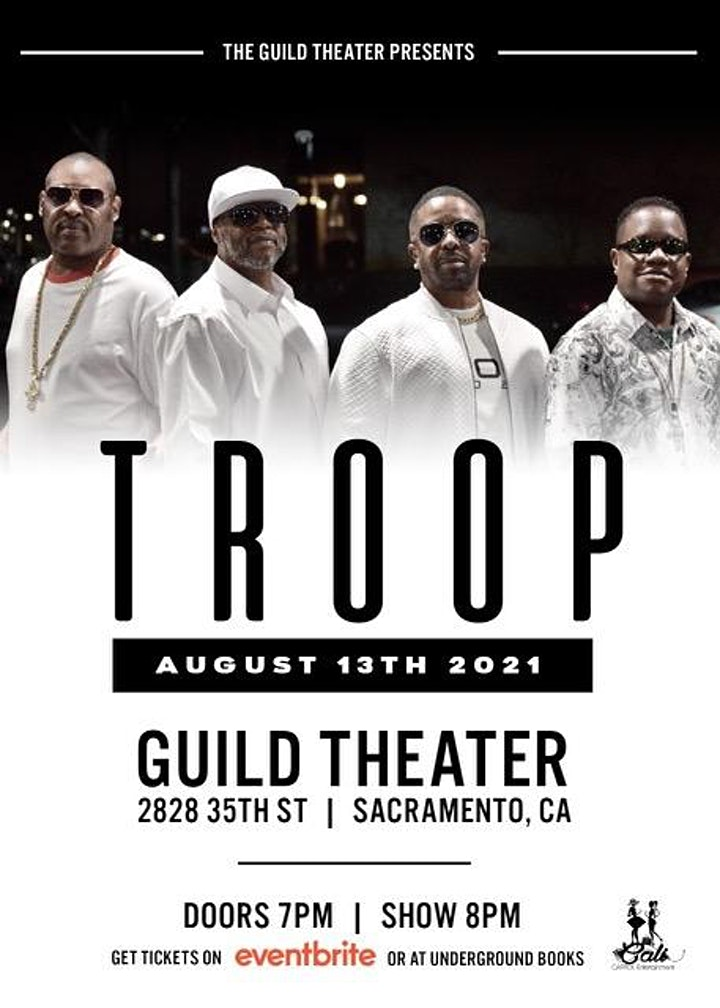 Troop live at the Guild Theater