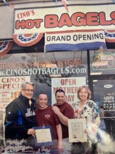 Cinos Bagels Owners