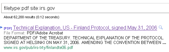 SERP Result for a PDF file with Meta-Description