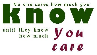 caring leader image