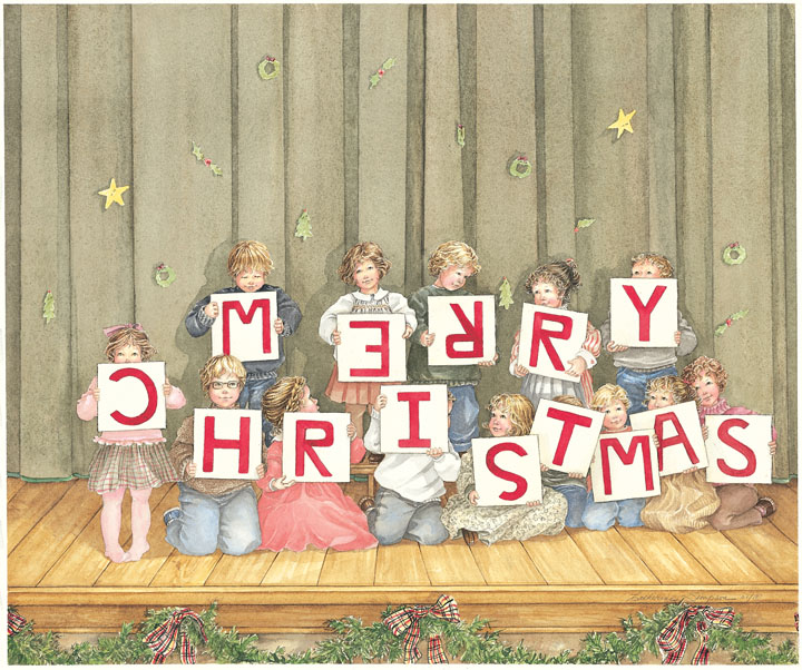 Merry Christmas by Catherine Simpson
