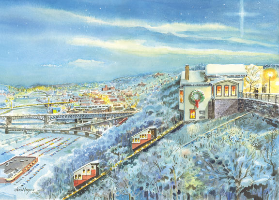 Christmas Incline by Jess Hager