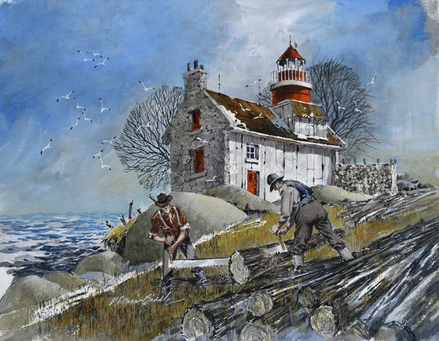 Preparations for Winter 6821 by William Biddle