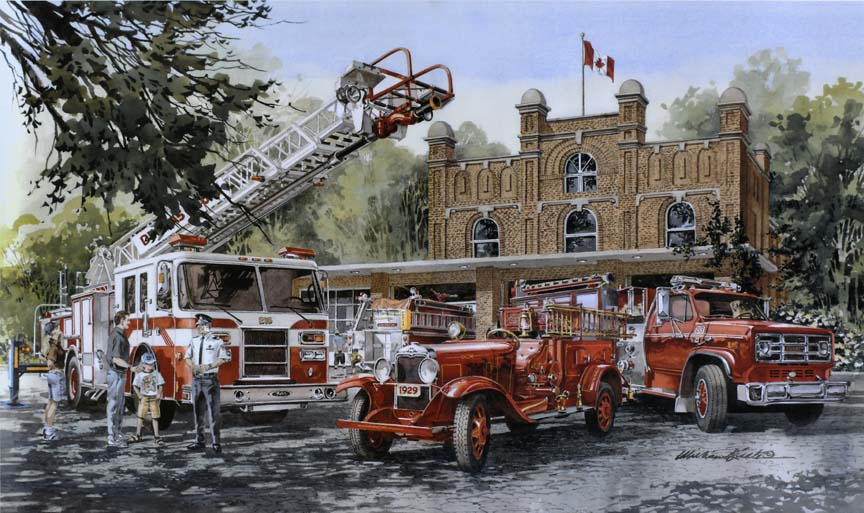 Serving the Community 6993 by William Biddle