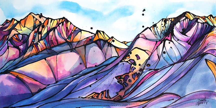 Mountains – Valley of Dreams © Dawn Gerety