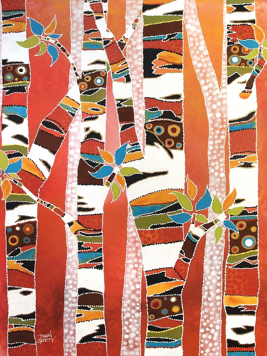 Trees – Forest Fire © Dawn Gerety