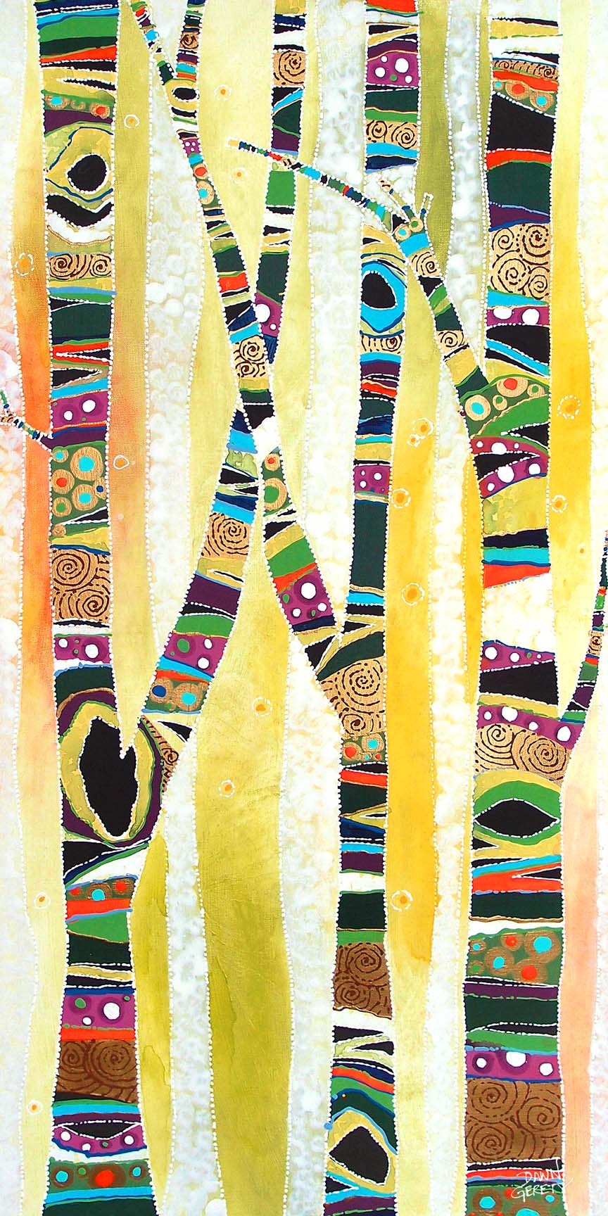 Trees – Trunk Trees © Dawn Gerety
