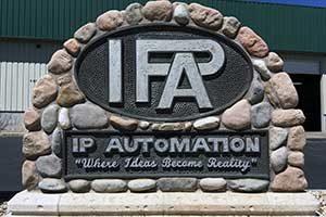 IP Automation signage