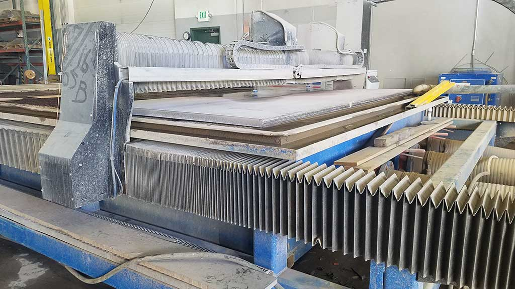 large format water jet cutting services