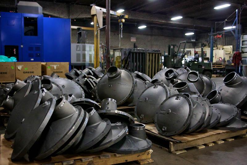 CNC machining castings